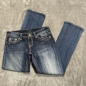 Vigoss The New York Slim Boot Bedazzled Jeans!